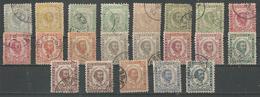 Prince Nicolas (timbres Diverses) - Montenegro