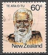 1980 60 Cents Te Ata O Tu, Used - Nouvelle-Zélande