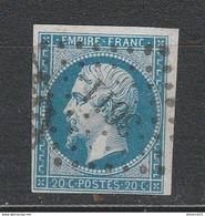 OBLI Rhône 3611 Villefranche 14B TBE - 1853-1860 Napoléon III
