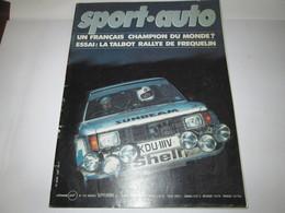 Revue  SPORT  AUTO NUMERO 236  SEPTEMBRE 1986 - Auto/Moto