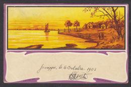 93636/ ILLUSTRATION, Paysage, 1903 - Illustratoren & Fotografen