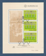 Portugal / Madeira   1984  Mi.Nr.  Block 5 ( 90 ) , Europa Cept Brücken - Gestempelt / Used / (o) - 1910-... République