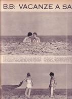 (pagine-pages)BRIGITTE BARDOT Epoca1959/455. - Livres, BD, Revues