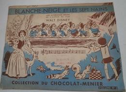 ALBUM CHOCOLAT MEUNIER - BLANCHE NEIGE - Chocolat