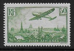 France - PA N°  14 * - Cote : 1100 € - Airmail