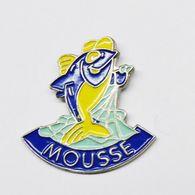 Pin's Poisson Mousse - ANIMAUX - Animals