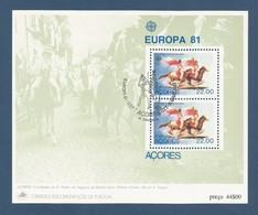 Portugal / Acores  1981  Mi.Nr. Block 2 ( 342 ), Europa Cept  Folklore - Gestempelt / Used / (o) - 1910-... Republic