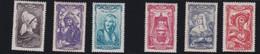 FRANCE 1943 - N° 593/598    -NEUF XX  Sans Charnière  Coiffes Régionales        - REF 24-24  Série Complète - France