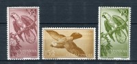 Guinea Española 1957. Edifil 365-67 ** MNH. - Guinea Española