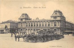 Bruxelles - Gare Du Nord - Attelages - Chemins De Fer, Gares