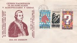 CENSOS NACIONALES. DON JUAN VICENTE GUIEMES PACHECO DE PADILLA HORCASTILLAS-FDC 1970 MEXICO - BLEUP - Mexique