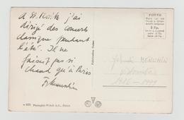 Carte De Menuhin - Autographes