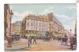 75  PARIS  La Rue Lafayette Et Cadet  Caleches  Cocher Omnibus  A Cheval LV&Cie - Transport Urbain En Surface