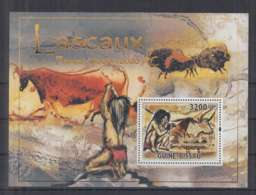I89. Guine-Bissau - MNH - 2010 - Art - Painting - Cave Paintings - Bl - Arts