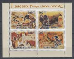 I89. Guine-Bissau - MNH - 2010 - Art - Painting - Cave Paintings - Arts