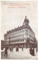Bruxelles - Vue Des Grands Magasins De La Bourse - Bruxelles-ville