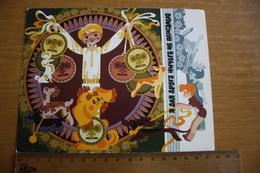 CHILDREN SONGS. USSR, Soviet Card. Dachshund - Dachshound - Teckel - Dackel - Bassotto  1980s - Dogs