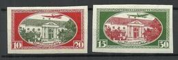 LETTLAND Latvia 1930 Michel 159  - 160 B * - Lettonie
