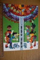 CHILDREN SONGS. USSR, Soviet Card. Teddy Bear  1980s - Games & Toys