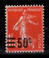 YV 225 N** Semeuse Cote 2,60 Euros - France