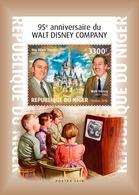 NIGER 2018 - Walt Disney Company S/S. Official Issue - Disney