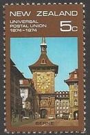 1974 UPU, 5 Cents, Never Hinged - Nouvelle-Zélande