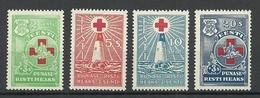 Estland Estonia 1931 Michel 90 - 93 MNH - Estonie