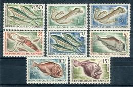 Congo 1961. Yvert 142-47A ** MNH. - Congo - Brazzaville