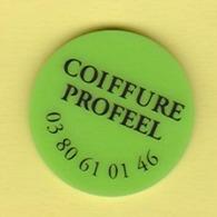 """Jeton  De Caddie """" Coiffure PROFEEL """" Nuits-St-Georges_j404 - Jetons De Caddies"""