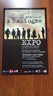 Affiche. Expo La Bataille Des Ardennes. Bastogne. 2005 - Affiches