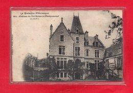 22-CPA CHATEAU DU VAL BOUAN EN PLANGUENOUAL - AU DOS ( MENU DU VAL BOUAN - 24 MAI 1904) - TOP - France