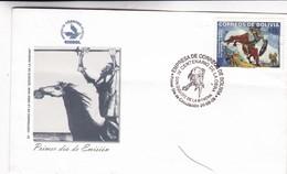 IV CENTENARIO OBRA CERVANTES DON QUIJOTE DE LA MANCHA-FDC 2005 BOLIVIA - BLEUP - Writers