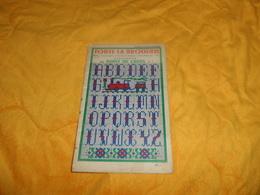 CATALOGUE TOUTE LA BRODERIE MOTIFS SUJETS FANTAISIE...ALPHABETS AU POINT DE CROIX N°5. ANNEE 1958 - Unclassified