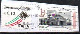 2016 Piazza Del Plebiscito E 0,10 Poste Italiane - 6. 1946-.. Repubblica