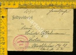 Regno WW1 Prima Guerra Posta Militare Feldpost - Storia Postale