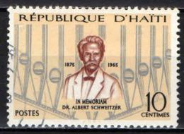 HAITI - 1967 - Dr. Albert Schweitzer, Maps Of Alsace And Gabon - USATO - Haiti