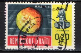 HAITI - 1966 - MANDARINO E  J. J. Dessalines - USATO - Haïti