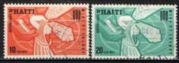HAITI - 1963 - CAMPAGNA CONTRO LA FAME NEL MONDO - USATI - Haïti