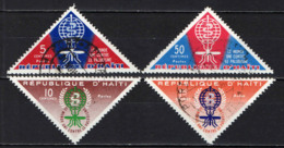 HAITI - 1962 - LOTTA CONTRO LA MALARIA - USATI - Haiti
