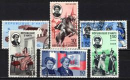 HAITI - 1961 - ALEXANDER DUMAS - USATI - Haïti