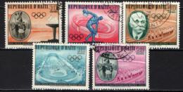 HAITI - 1960 - OLIMPIADI DI ROMA - USATI - Haiti