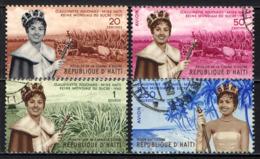 HAITI - 1960 - Claudinette Fouchard, Miss Haiti - Sugar Queen - USATI - Haïti