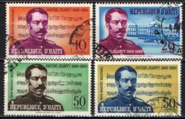 HAITI - 1960 - CENTENARIO DELLA NASCITA DI OCCIDE JEANTY - COMPOSITORE - USATI - Haïti