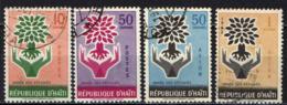 HAITI - 1960 - ANNO INTERNAZIONALE DEL RIFUGIATO - USATI - Haïti