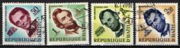 HAITI - 1959 - SERIE IN MEMORIA DI ABRAMO LINCOLN - USATI - Haïti