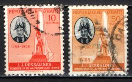 HAITI - 1958 - MONUMENTO A J. J. DESSALINES - USATI - Haïti