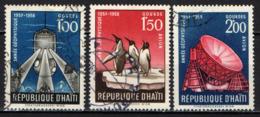 HAITI - 1958 - ANNO INTERNAZIONALE DI GEOFISICA - USATI - Haïti