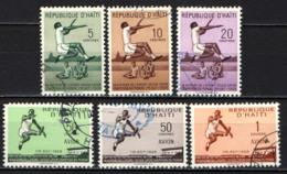 HAITI - 1958 - 30° ANNIVERSARIO DEL RECORD DEL MONDO DEL SALTO IN LUNGO DI SYLVIO CATOR - USATI - Haïti
