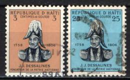 HAITI - 1955 - J. J. DESSALINES - USATI - Haïti