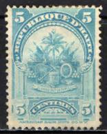 HAITI - 1899 - STEMMA DI HAITI - USATO - Haiti